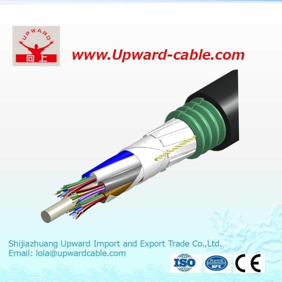 China GYTS Corning G653 Optic Fiber Cable - China Optic Fiber Cable ...