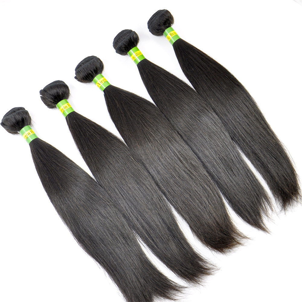 China Brazilian Virgin Hair Extensions Straight Size 8inch To 40inch