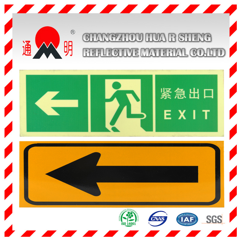 Engineering Grade Reflective Sheeting Material for Road Traffic Signs Guiding Signs pictures & photos