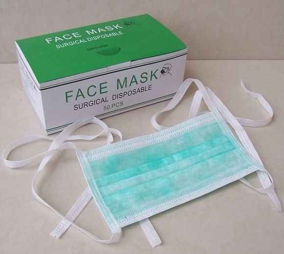 Green Color Surgical hot Item Masks Disposable Non Pp Woven