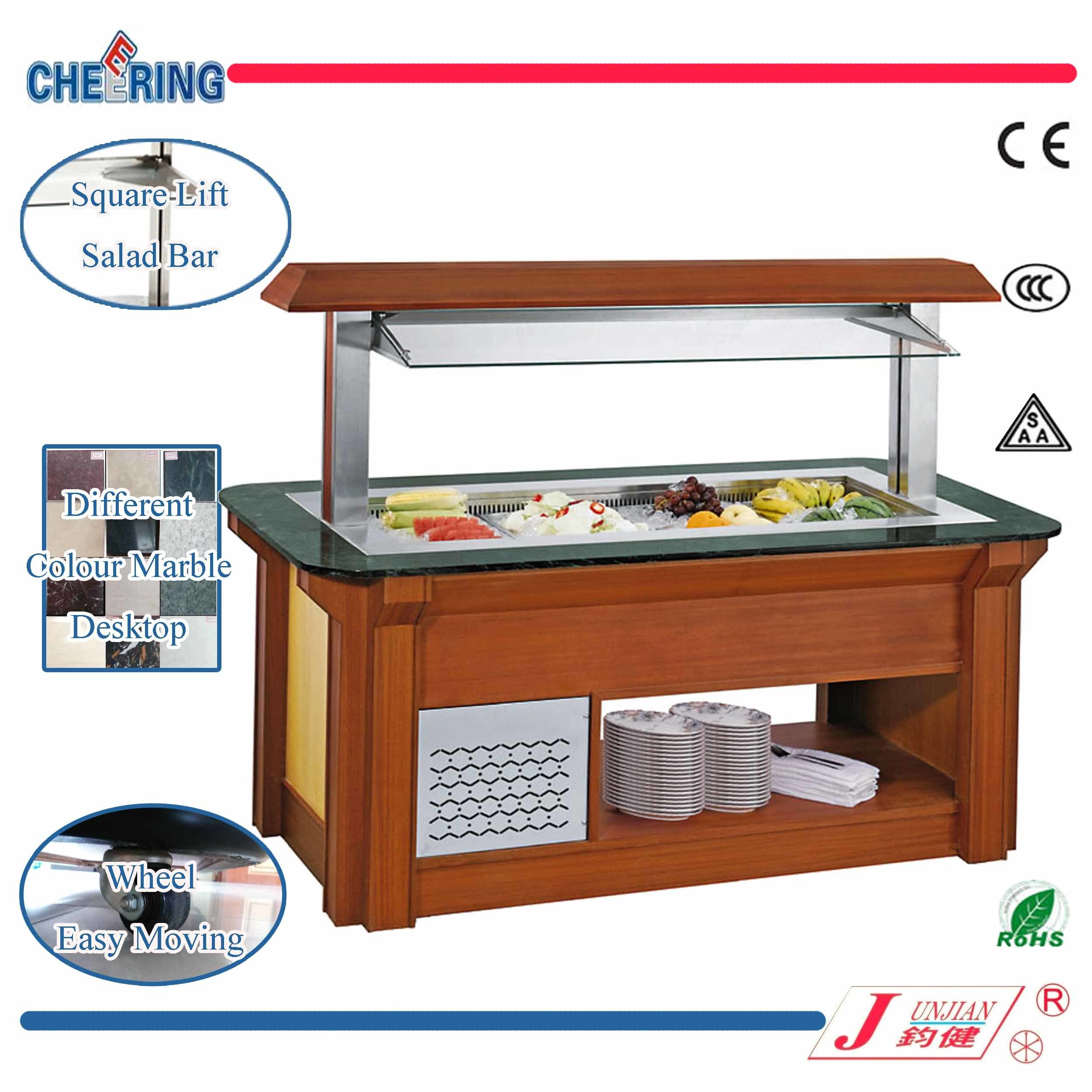 Commercial Buffet Refrigeration Salad Bar