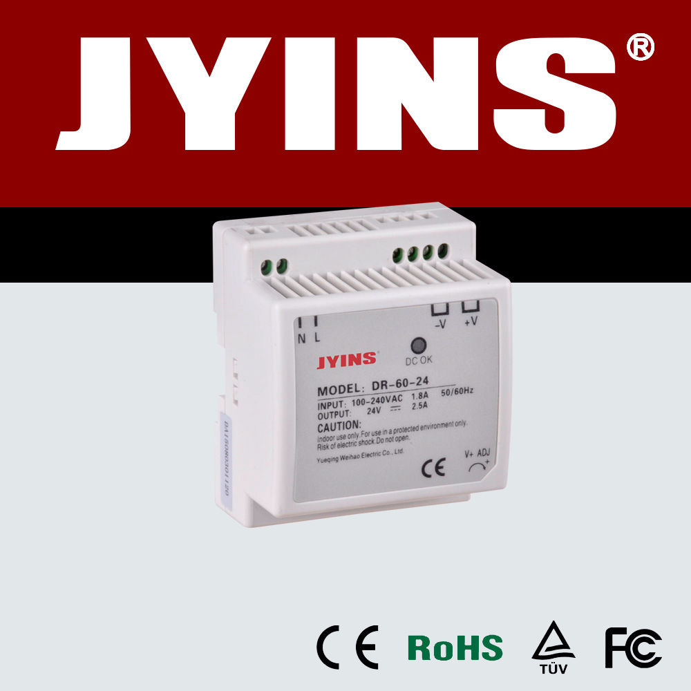 China 12v 5a Dc Car Switching Power Supply Dr 60w Series 12vdc To 230vac Inverter Circuit