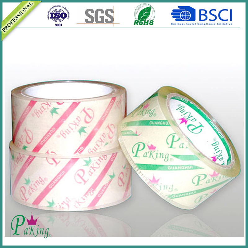 19 Years Manufacturer Supply BOPP Adhesive Super Clear Packing Tape