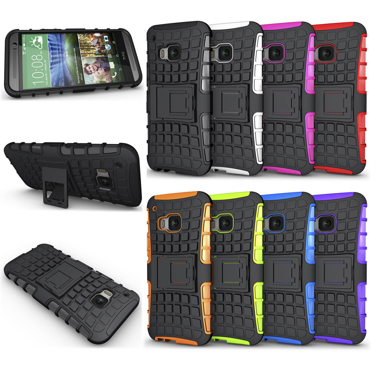 cheap for discount 1ba2e 13384 [Hot Item] Hybrid Rugged Phone Case for HTC One M9 M9 Plus