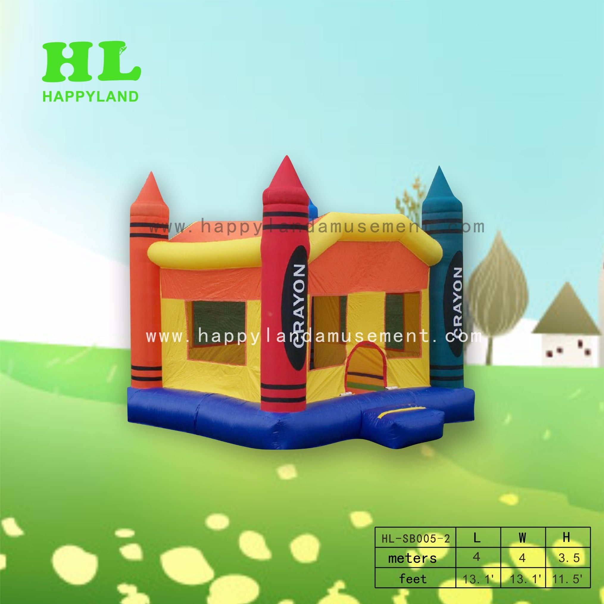 China Exciting Polychrome Crayon Inflatable Bouncer with Customized  Services for Kids Doing Sports Game - China Hot Sale, Inflatable