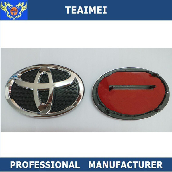 China For Toyota Car Brands Logo Names Badge With Abs Plastic Grill
