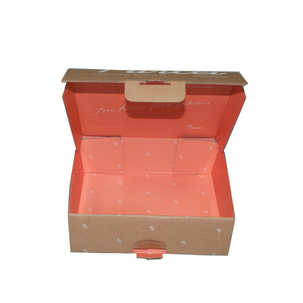 Hot Sale Custom Printed Corrugated Box Corrugated Parcel Packing Box pictures & photos