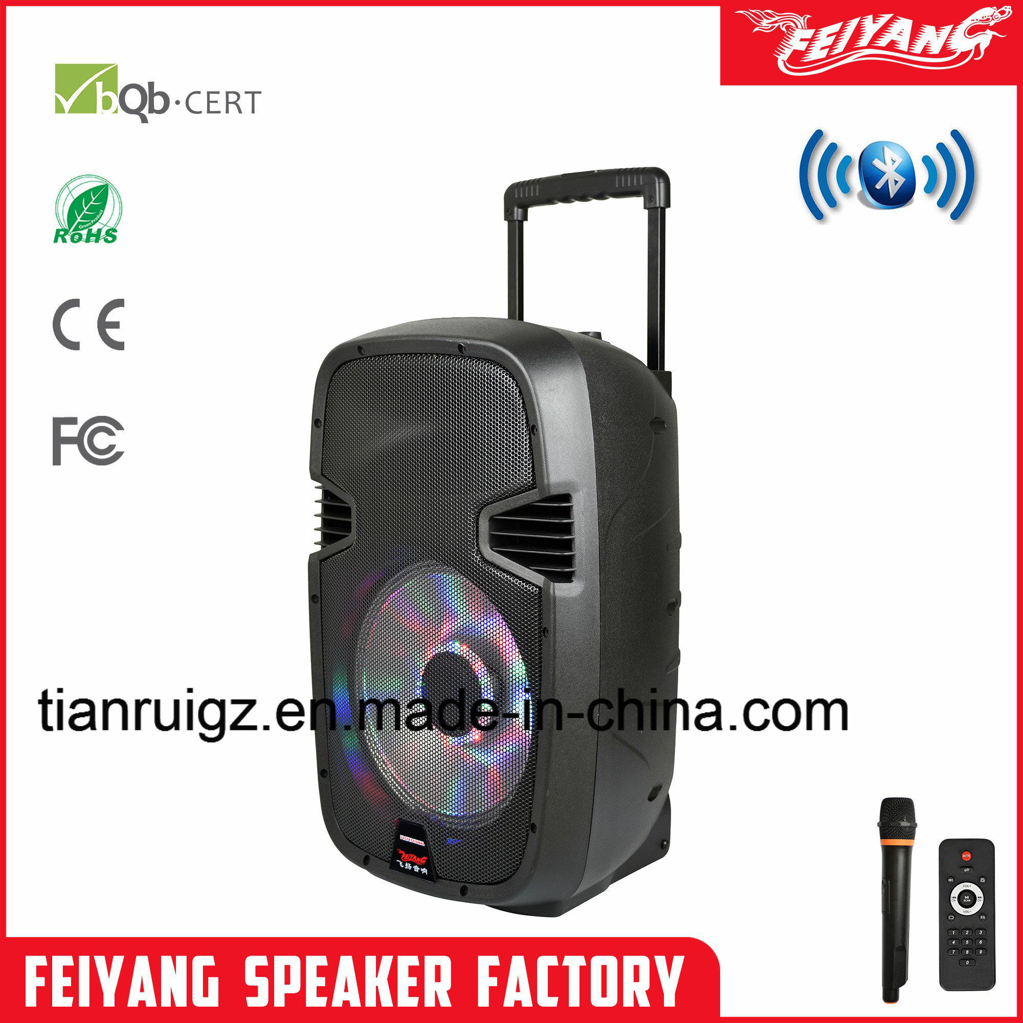 New Portable Audio Professional DJ Bluetooth Speaker Box F23 pictures & photos