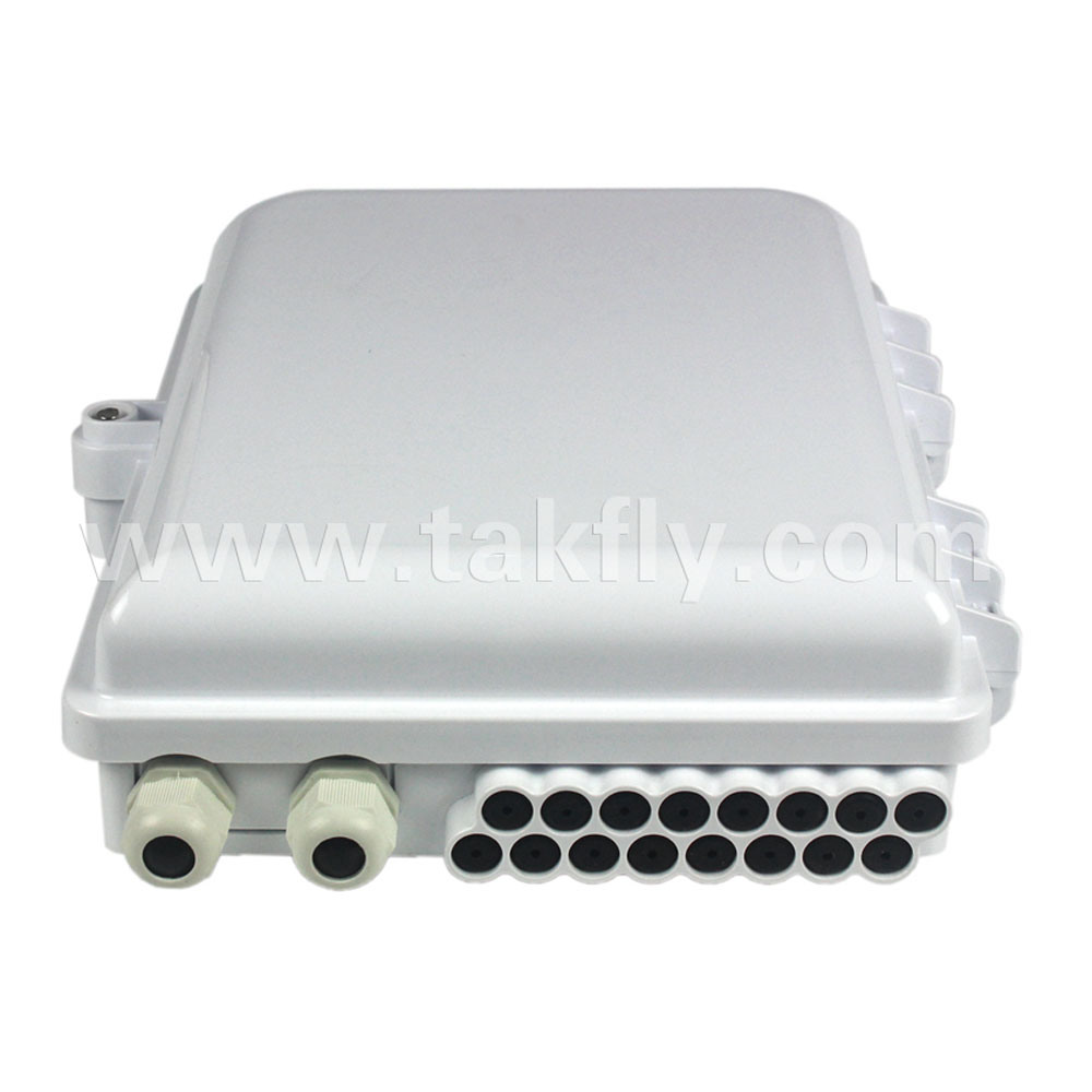 16 Core FTTH Junction Outdoor Fiber Optical Termination Box pictures & photos