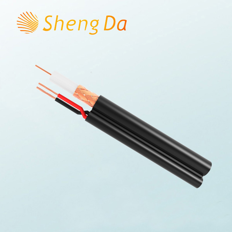 China Best Price Rg59 White Coaxial Cable with Power Wire - China ...