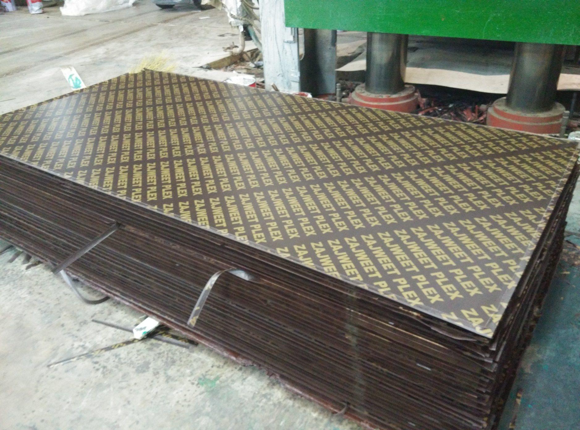 China Poplar/Combi/Hardwood Core Brown/Red Marine Plywood