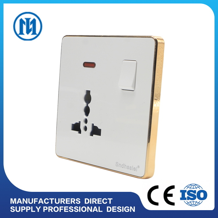 China New Product OEM Design USB Outlet 2 Gang Electrical Wall ...