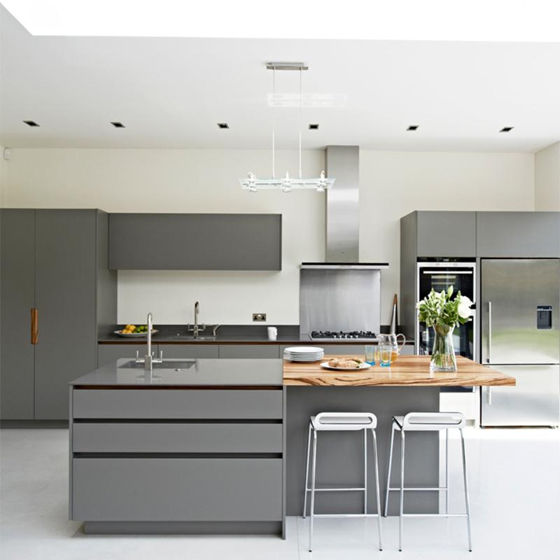 Modern Grey Kitchen Cabinets Guangzhou