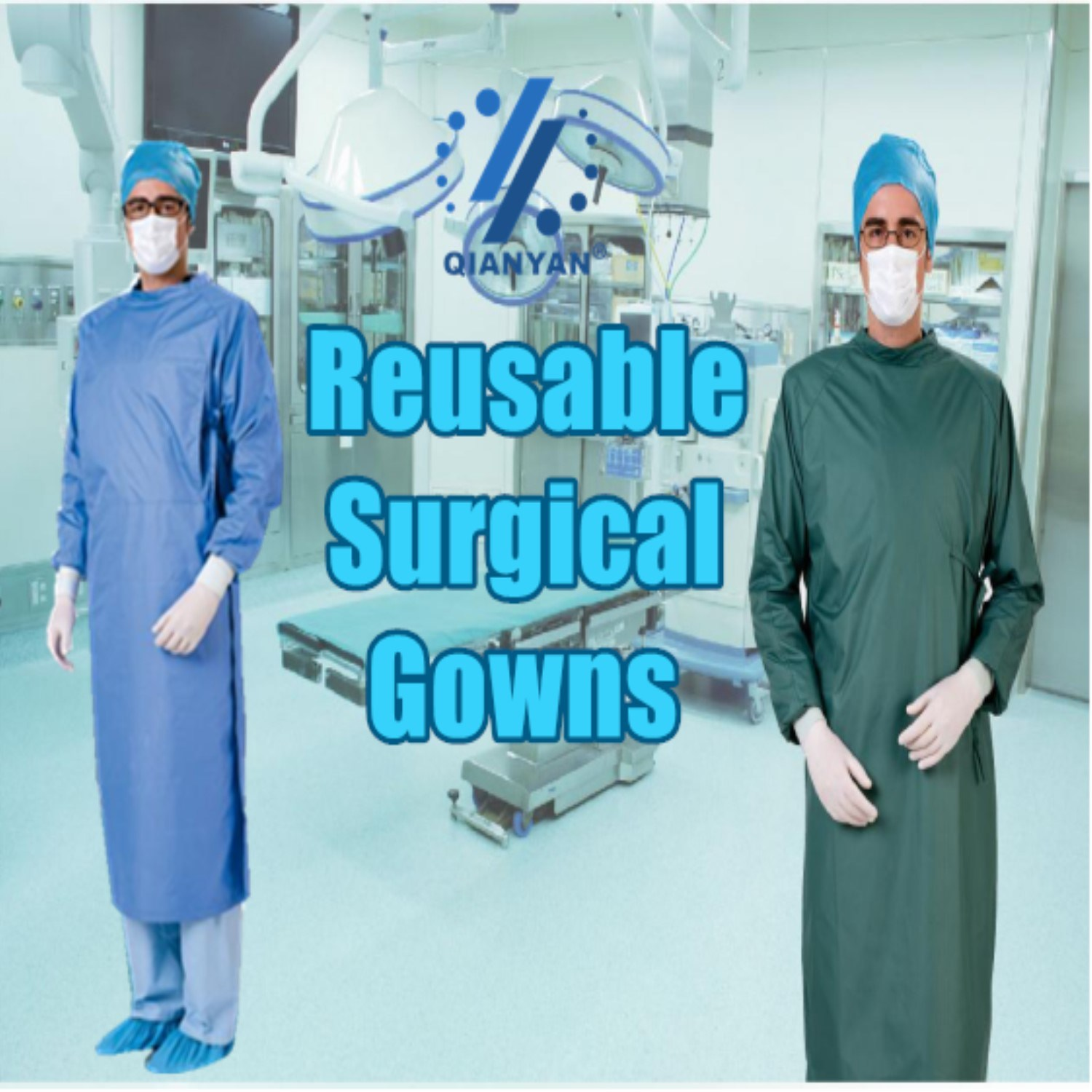 China Reusable Polyester Surgical Gowns for High Risk Operations by ...