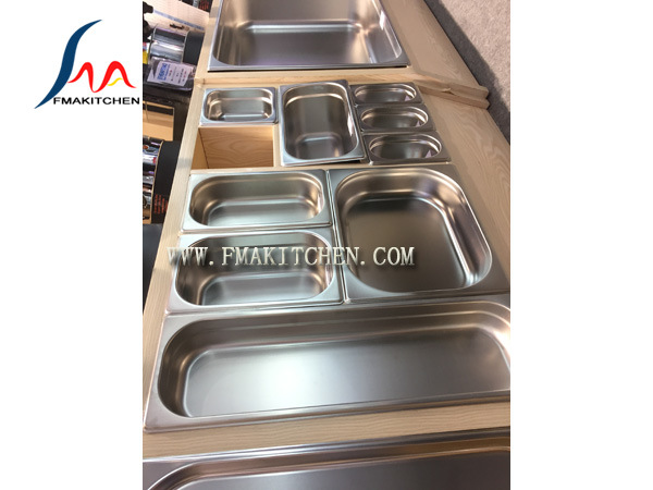 European Style Gn Pan, Stainless Steel Gastronorm Pan, G/N Pan, Gastronorm Container, Many Size, with Lid/Cover pictures & photos