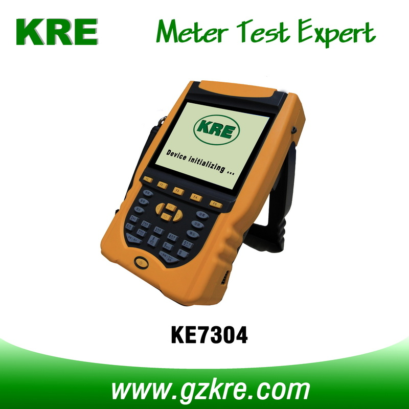 Class 0.3 Portable Three Phase Reference Standard Meter with Clamp CT Current Input