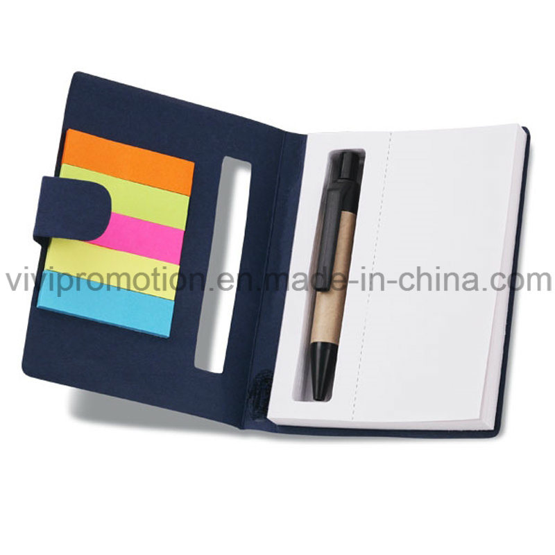 Note Book Sticky Flags with Paper Pen for Promotion (NP105)
