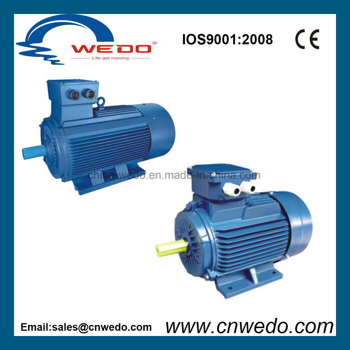 China Y2-132s-4 High Quality Three Phase Electric Motor - China ...