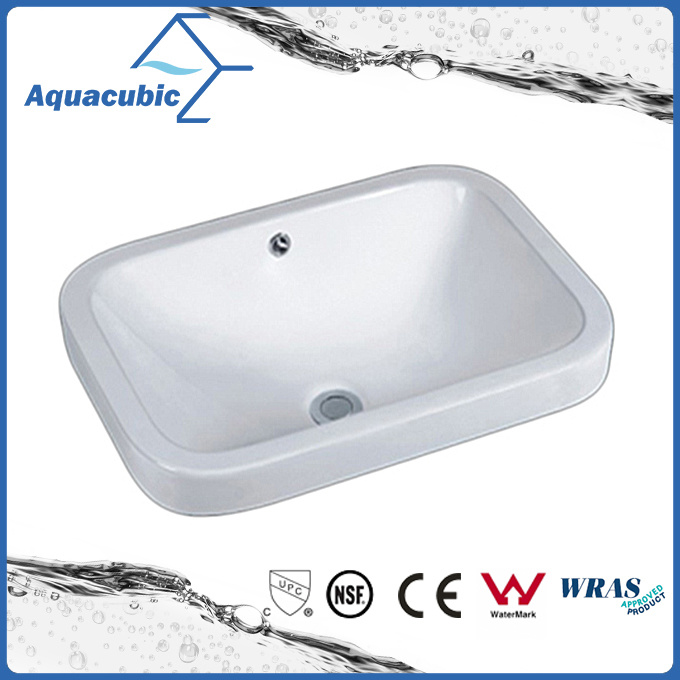 Sanitary Ware Bathroom Basin Undermount Ceramic Sink (ACB2001A) pictures & photos