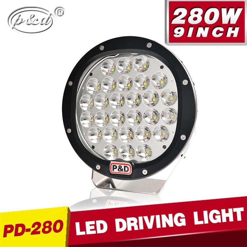 China New Brightness 280w Cree Led Drivig Light Led Spotlights 4x4
