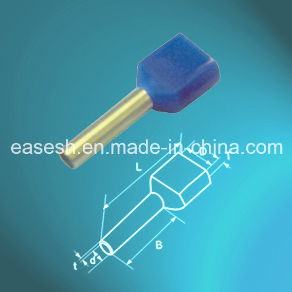 China Manufacture UL Insulated Solderless Twin Cord End Ferrules ...