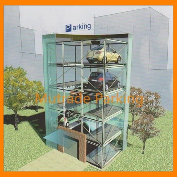 China Automatic Mechanical Multi-Floor Car Stacker Parking Lift ...