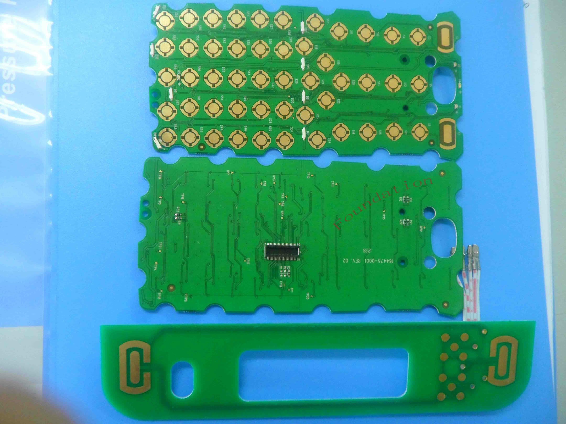 China Membrane Switch Flexible Printed Board Rigid Pcb Circuit Led Backlight Keyboard Assembly Pcba