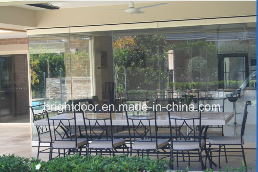China Frameless Sliding Gl Doors