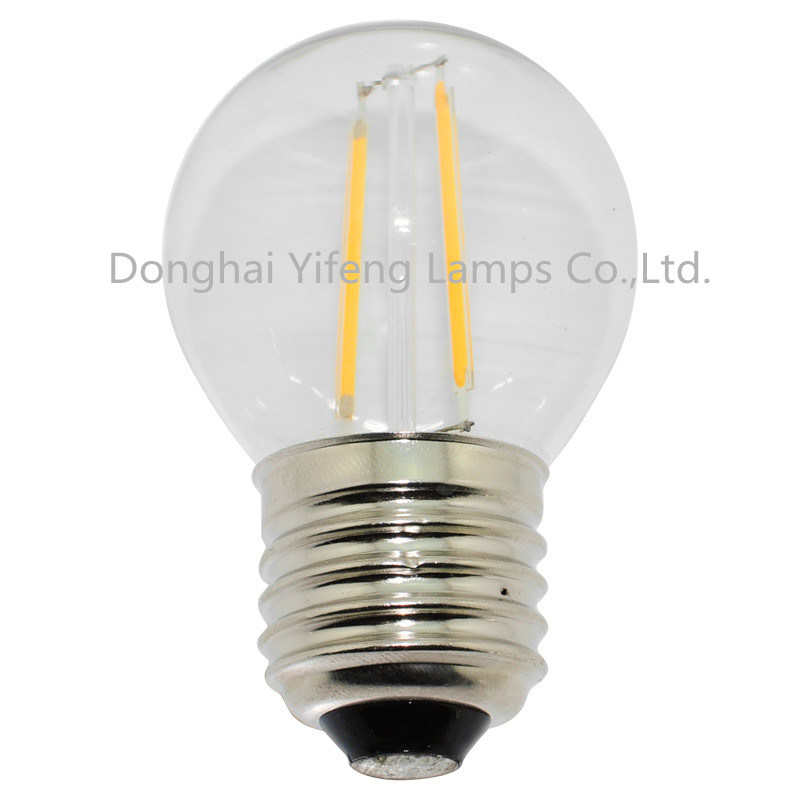 G45 LED Filament Bulb with EMC and Celvd Approved pictures & photos