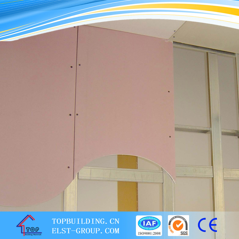 Gypsum Board-Fireproof/Fireproof Gypsum Board/Gypsum Board 1220*2440*15mm