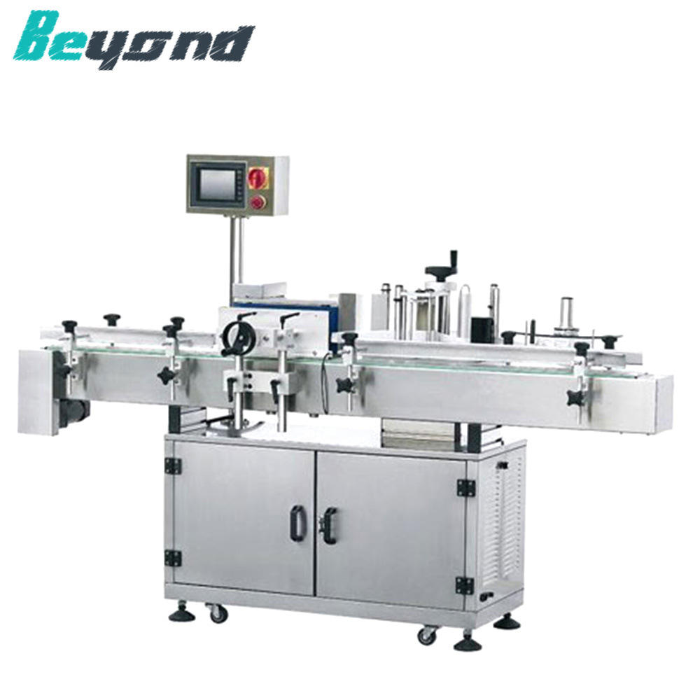 Mineral Water Bottle Label Machine With
