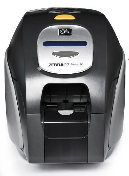 China High Quality Zebra PVC ID Card Printer, Support Single
