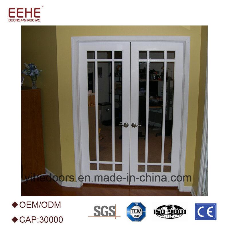 China Customized Size Office Glass Door Aluminium Swing Door Price