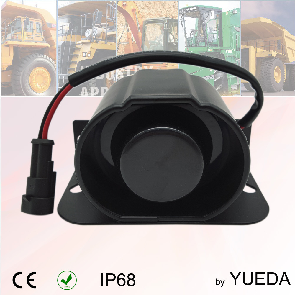 [Hot Item] 112dB Beep Sound, Human Voice, White Noise Back Buzzer Used on  Excavating Machinery