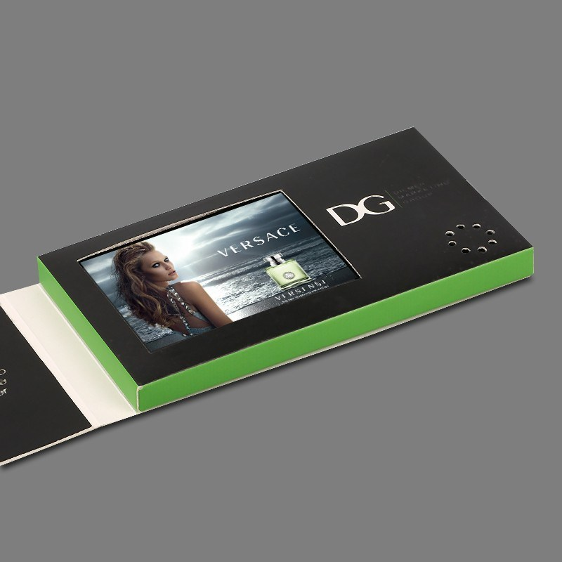 China Promotional 24 Inch Lcd Video Brochure Greeting Business Card