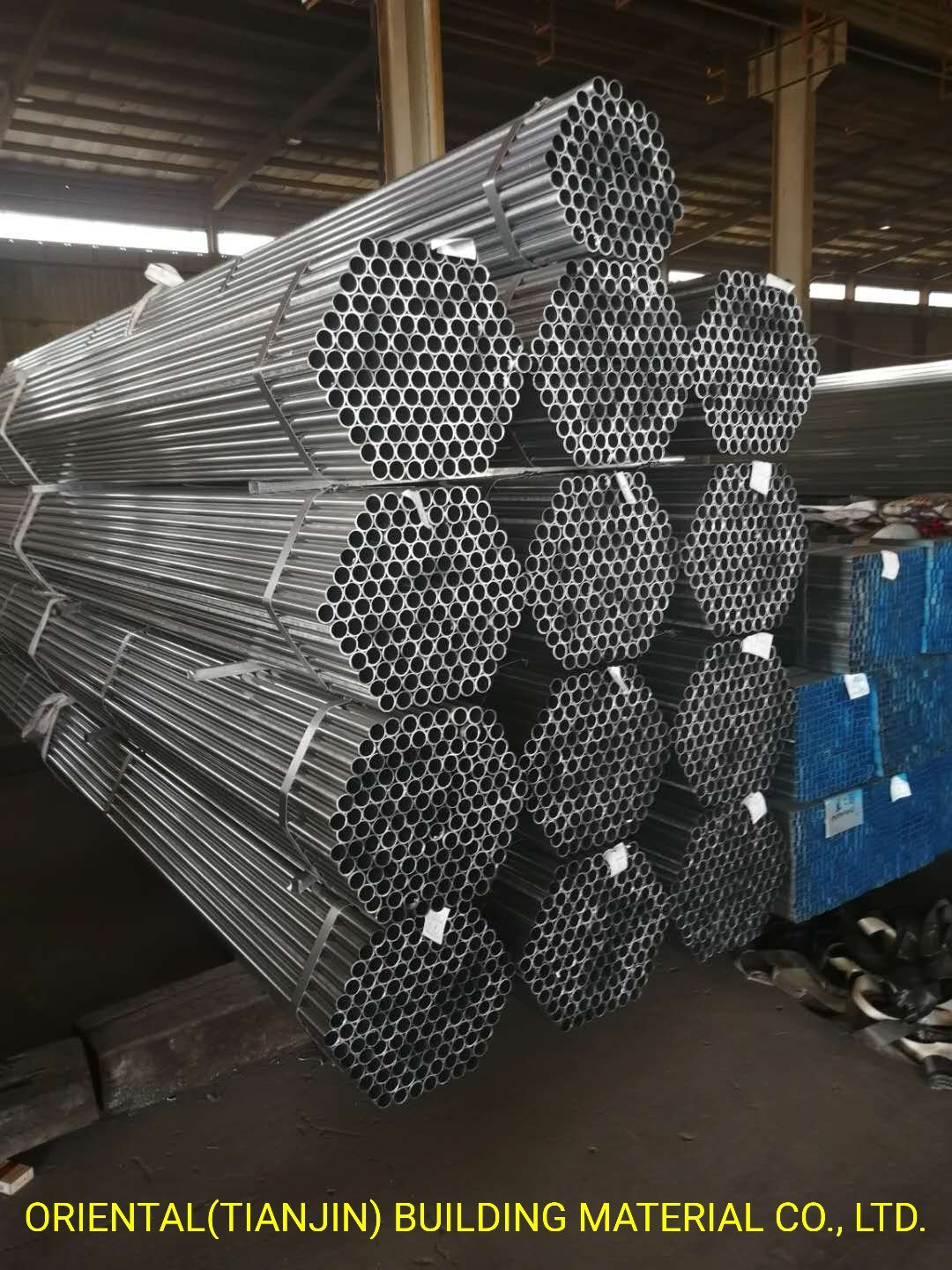 Hot Rolled Steel Pipe/Structure Steel Pipe/Round Steel Pipe/Black ERW Steel Pipe/ pictures & photos