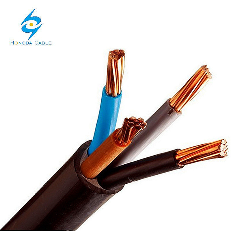China 4 X 16 Sqmm Insulated Electric 4 Core Copper Wire 10mm PVC ...