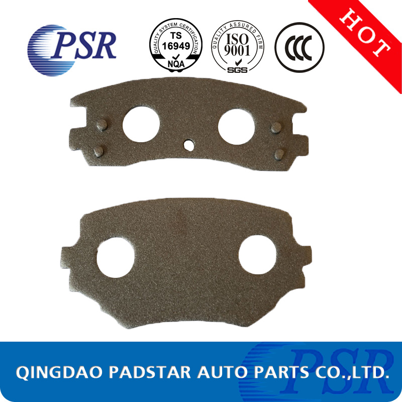 Truck Brake Pads Casting Backing Plate for Aftermarket (Mercedes-Benz) pictures & photos