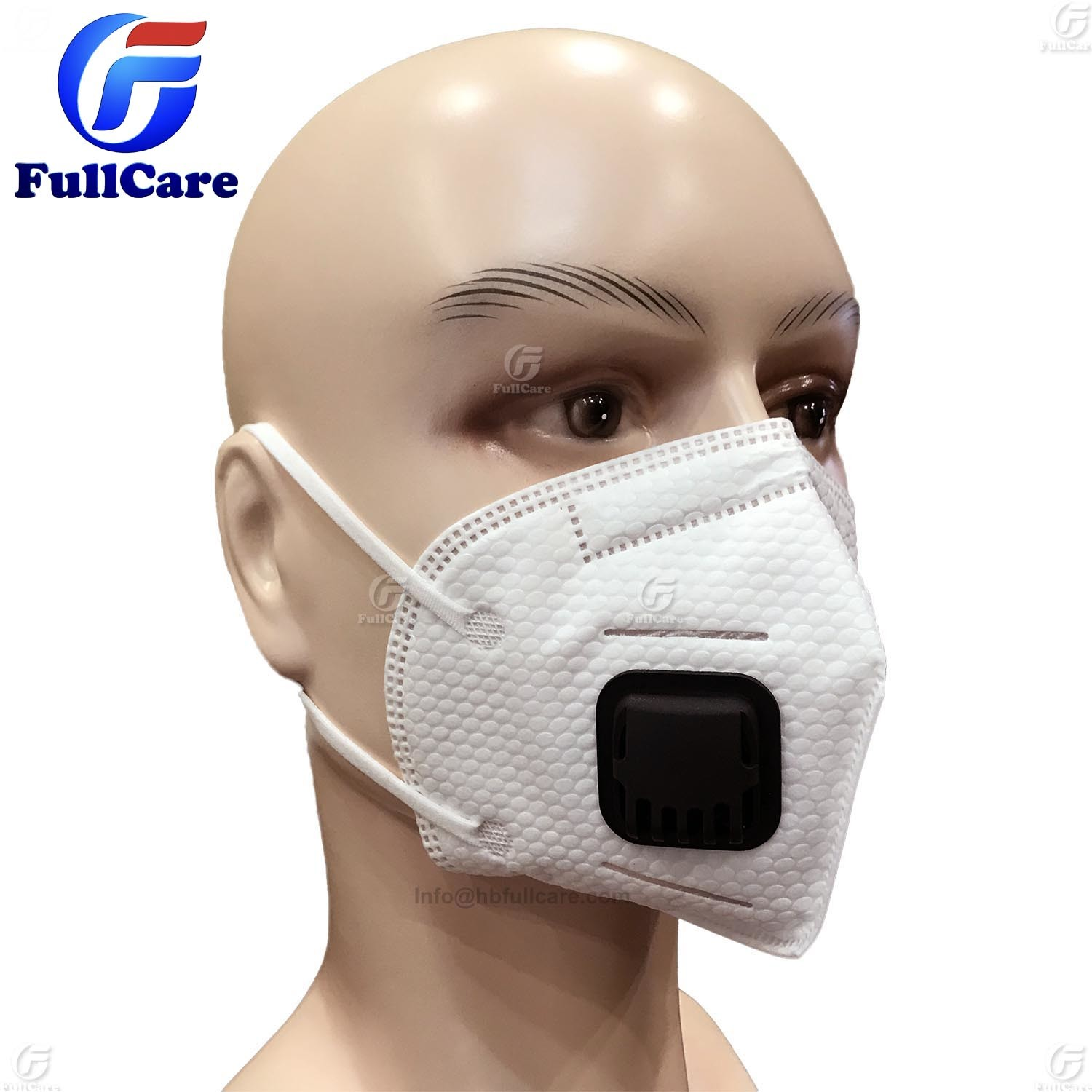 Mouth Dust hot Pm2 Ffp2 Item White N95 Folding Color Ffp1 Mask Anti-pollution Respirator Non-woven 5 Anti-haze Valved
