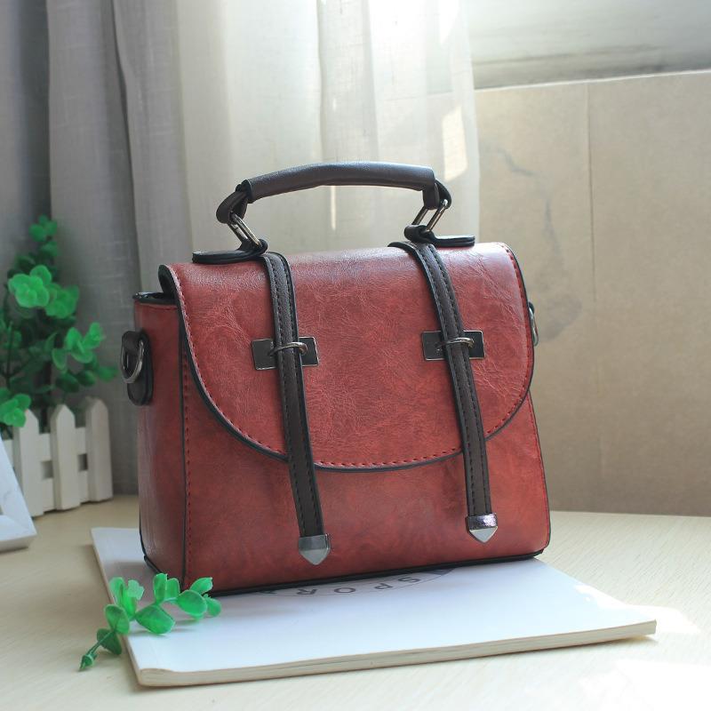Colorful Designer Handbags Tote Portable Pu Handbag