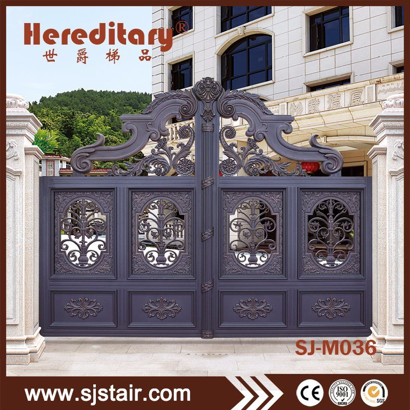 China Easily Assembled Indian House Aluminum Main Gate Design