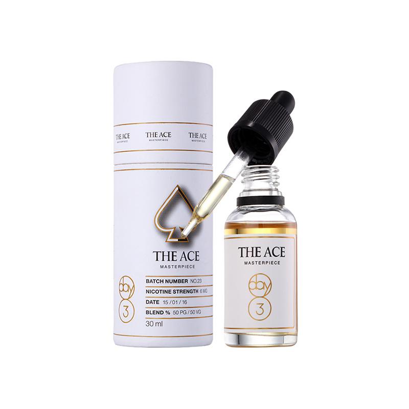 China 5ml/15ml/50ml Mint Flavoring E Liquid Vape Juice for Electronic Cigarette Low