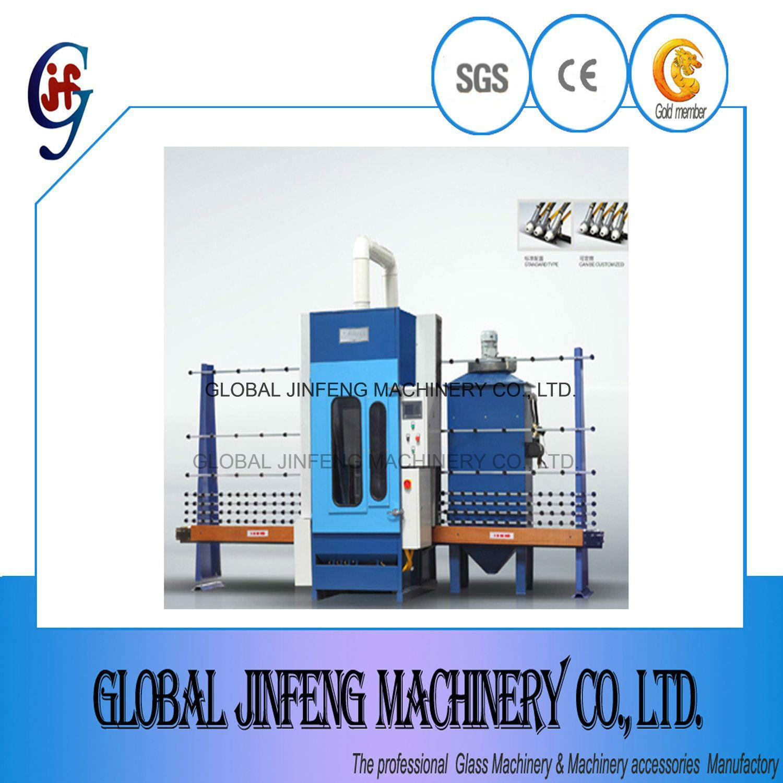 [Hot Item] PLC Control 4 Guns Sandblasting Machine for Architecture Glass  (JFP1600)