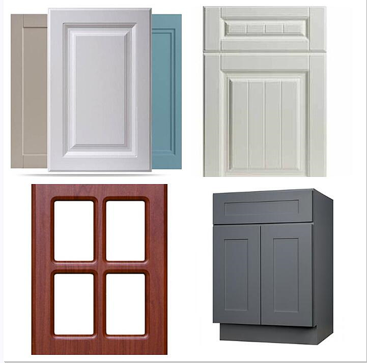 China Printed Mdf Kitchen Cabinet Parts, Shaker Kitchen Cabinet Doors