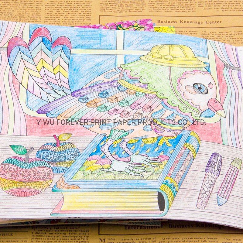 - China Wholesale Custom Design Logo Adult Secret Garden Coloring Book  Printing - China Coloring Book, Book Printing