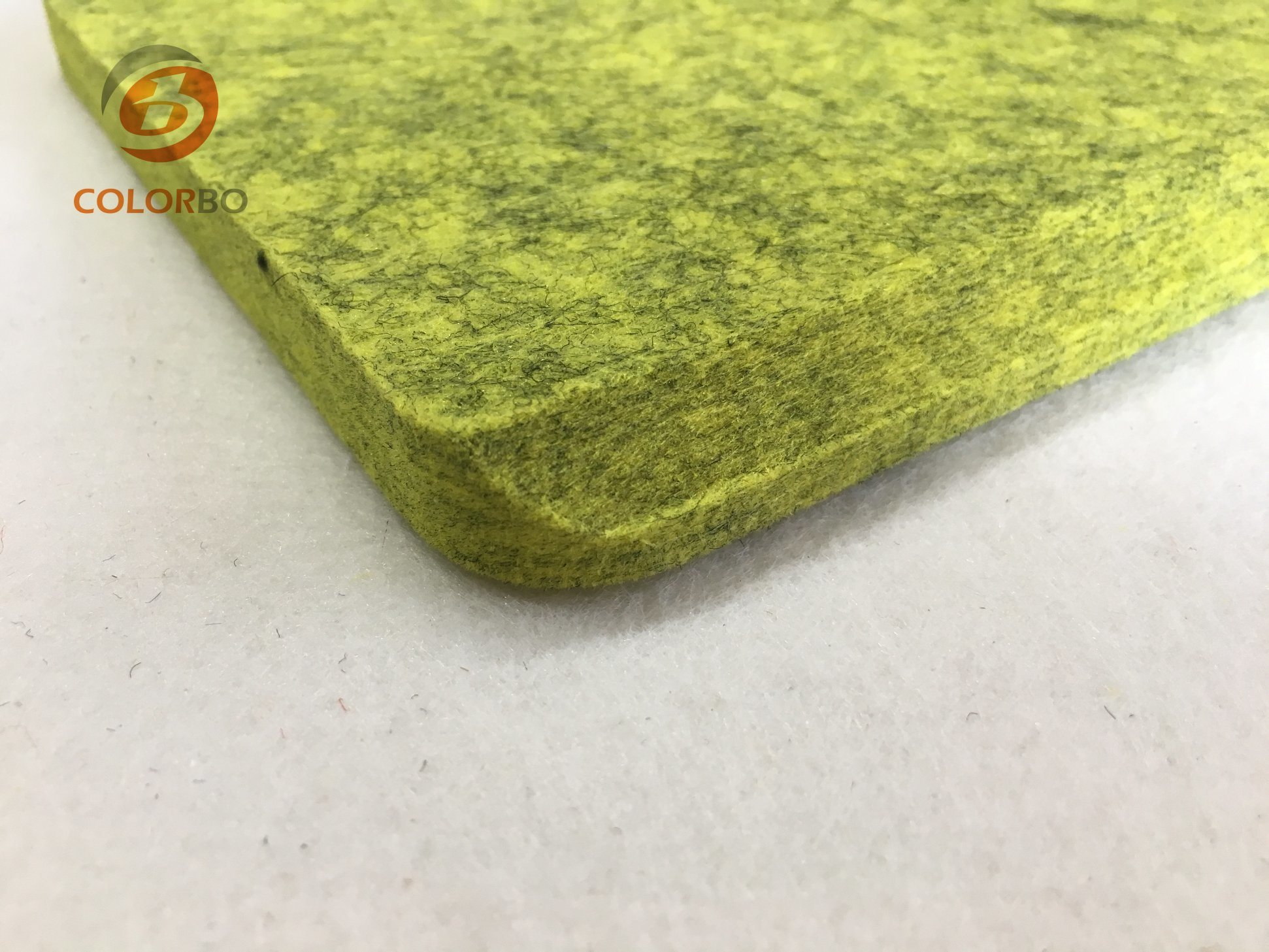China Fireproof Board For Fireplace Polyester Panel Acoustic Fiber