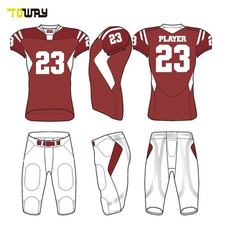 huge discount 44979 4c3fe [Hot Item] Custom Pink Youth Football Jersey Pattern Design
