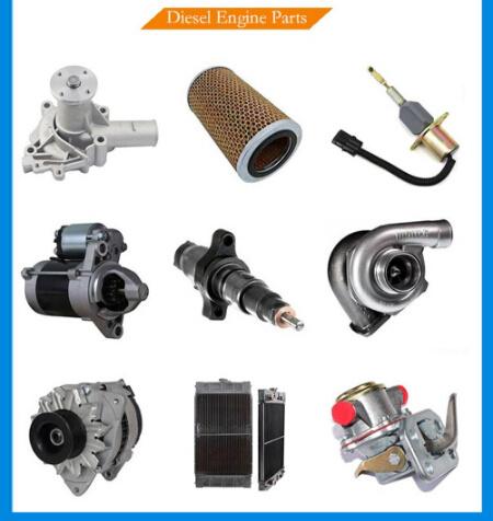 [Hot Item] Komatsu Diesel Engine Spare Parts Loader 2D70 3D82 3D84 4D95  6D95 4D102 6D105 SA6d125 SAA6d130