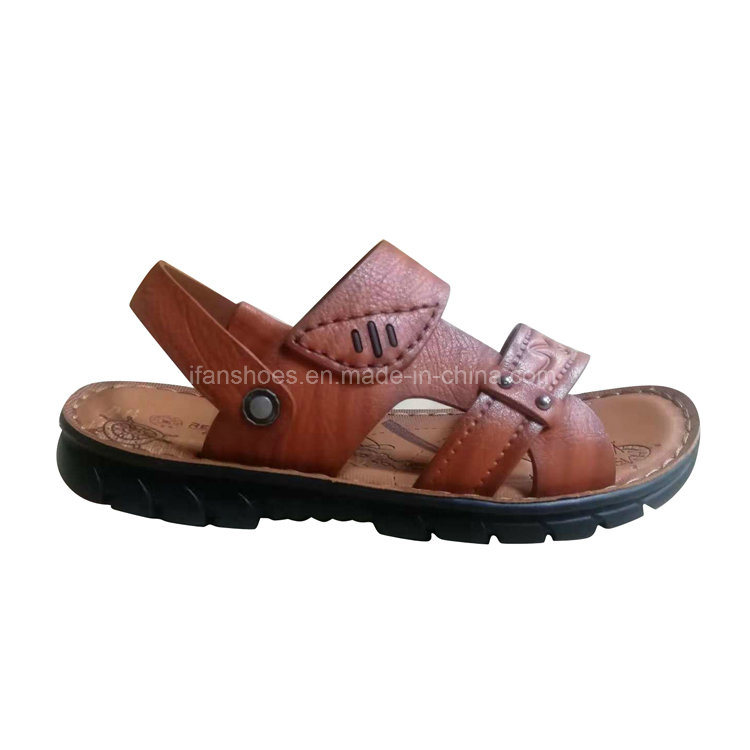 26c18309e730 China Good Quality Leather Men Sandals Very Fashion and Hot Selling ...