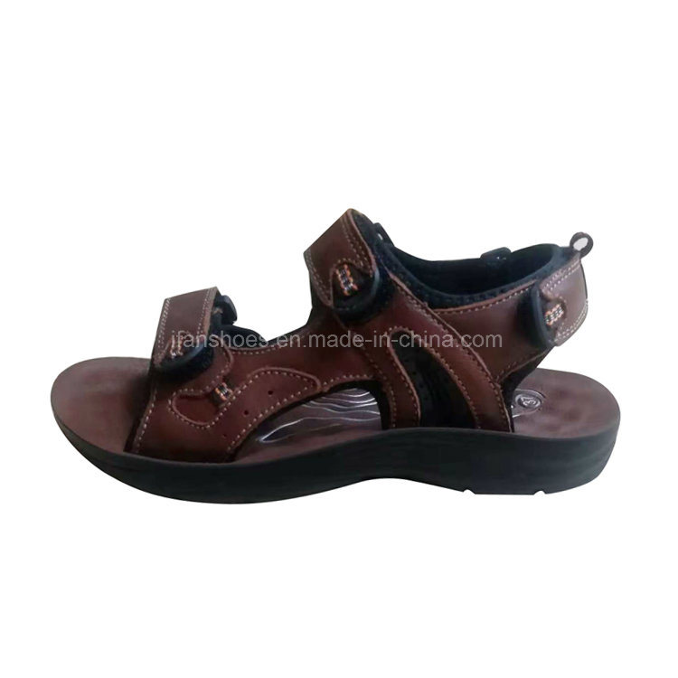 da37c2851478f1 China Good Quality Genuine Leather Men Sandals for Beach Sandals and Casual  Footwear - China Sandals